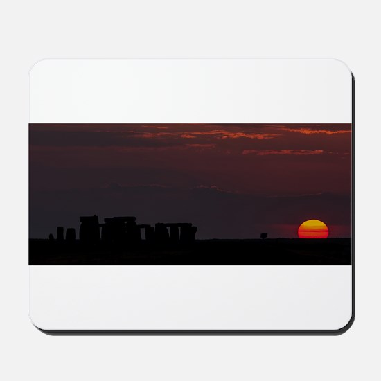 Stonehenge Sunset Mousepad