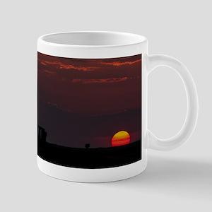 Stonehenge Sunset Mugs