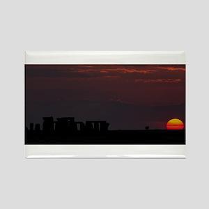 Stonehenge Sunset Magnets
