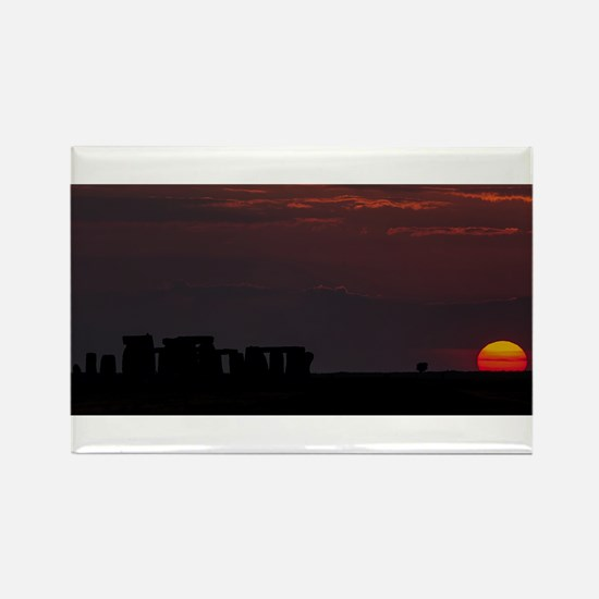 Stonehenge Sunset Magnets