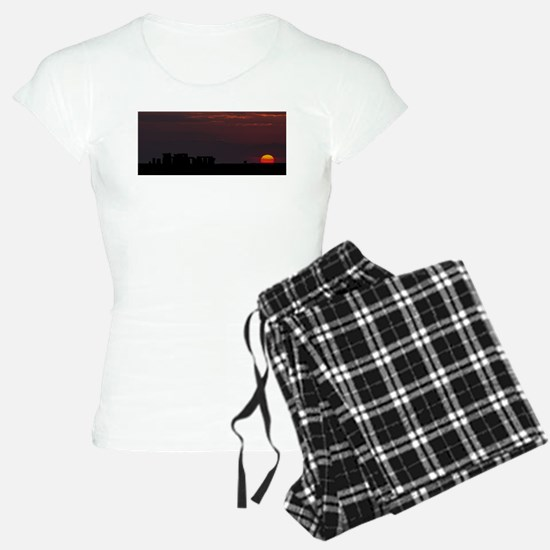 Stonehenge Sunset pajamas