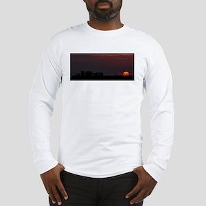 Stonehenge Sunset Long Sleeve T-Shirt