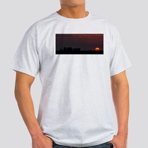 Stonehenge Sunset T-Shirt