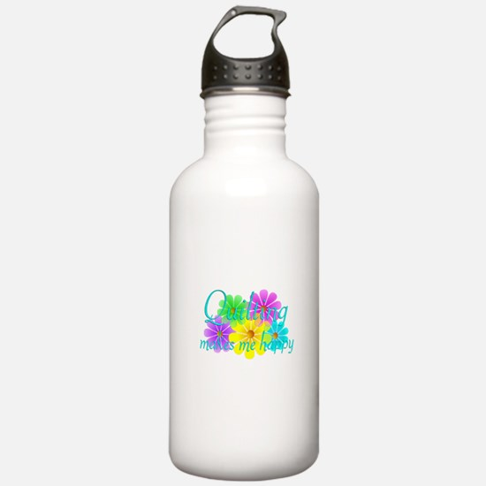 Quilting Happiness Water Bottle
