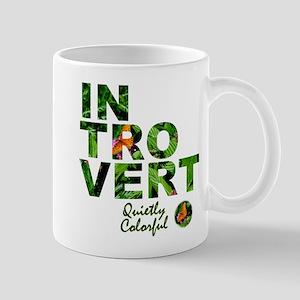 Quietly colorful jungle mug
