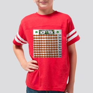 Count by 10 Money Youth Football Shirt