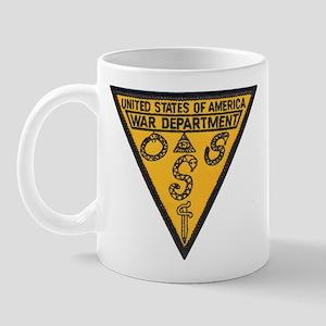 War Dept OSS Mug