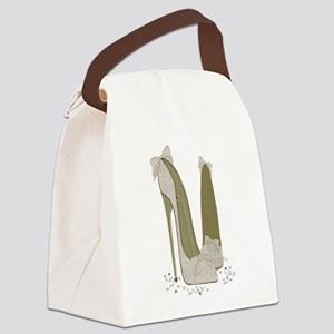 Wedding Shoes Art Canvas Lunch Bag