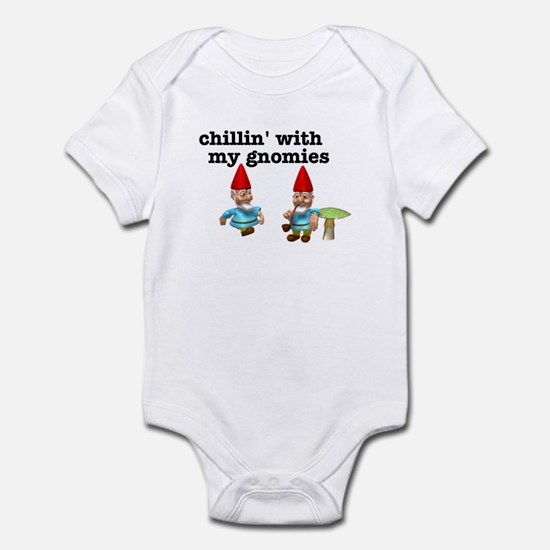 Chillin' with my Gnomies Infant Bodysuit