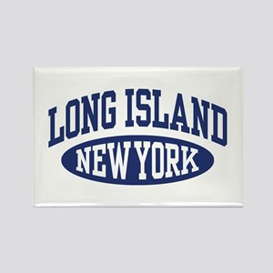 Long Island Rectangle Magnet