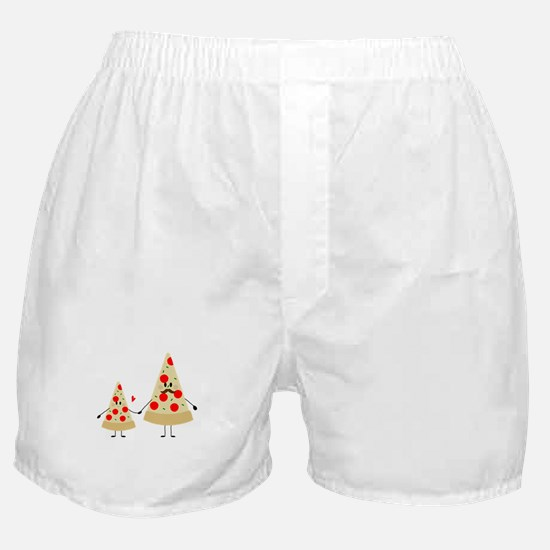 fathers day pizza Boxer Shorts