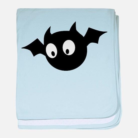Cute Bat baby blanket