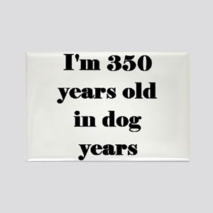 50 dog years 3-3 Magnets