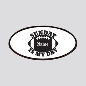 Personalized Sunday is My Day Patches