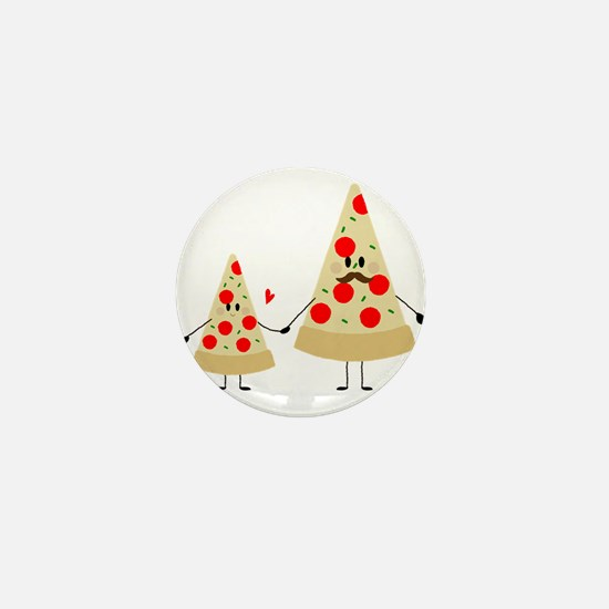 fathers day pizza Mini Button