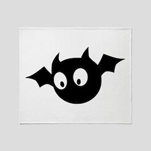 Cute Bat Throw Blanket