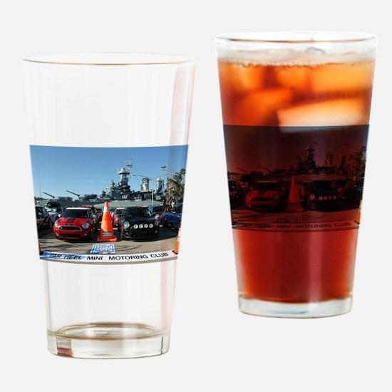 Funny North carolina tar heels Drinking Glass