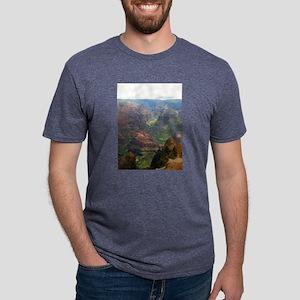 Kauai Landscape Mens Tri-blend T-Shirt