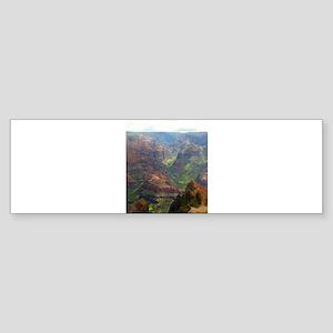 Kauai Landscape Bumper Sticker