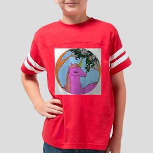Unicorn by Kimber Rodgers. Youth Football Shirt