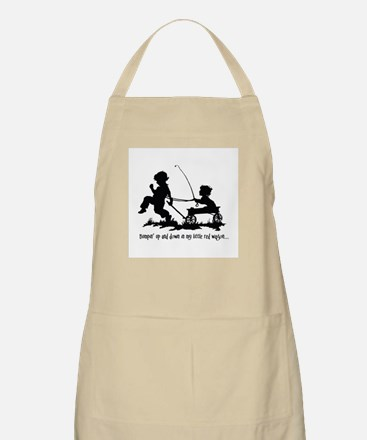 Little Red Wagon BBQ Apron