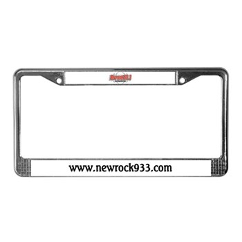 Planet License Plate Frame