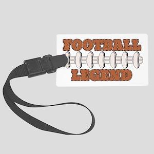 Football Legend Large Luggage Tag