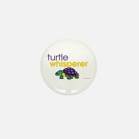 turtle whisperer Mini Button