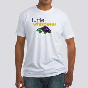 turtle whisperer Fitted T-Shirt