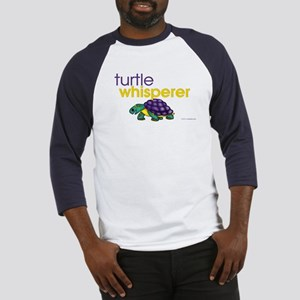 turtle whisperer Baseball Jersey