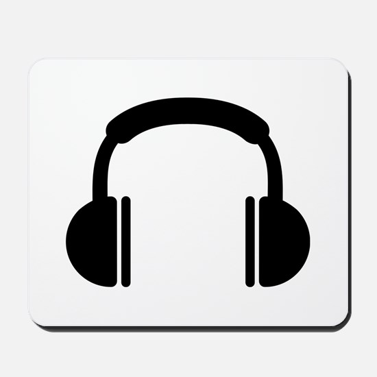 Headphones music DJ Mousepad