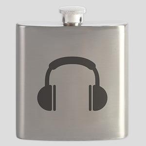 Headphones music DJ Flask