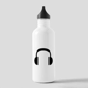 Headphones music DJ Stainless Water Bottle 1.0L