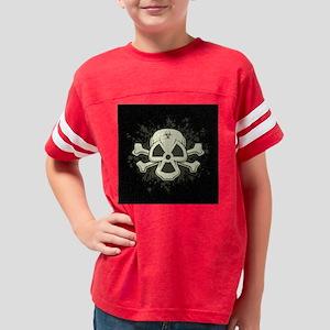 biorad-skull-grn-TIL Youth Football Shirt