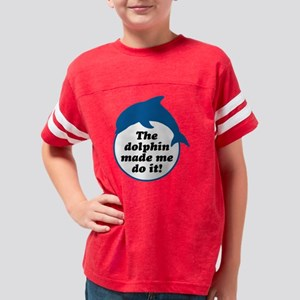 dolphin2 Youth Football Shirt