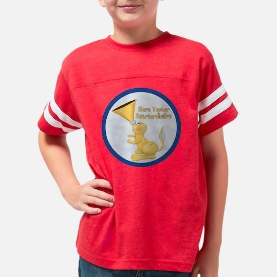 HornTooter-Round Youth Football Shirt