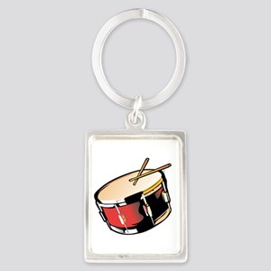 realistic snare drum red Keychains