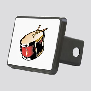 realistic snare drum red Hitch Cover