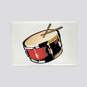 realistic snare drum red Magnets