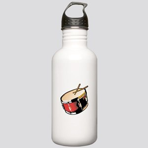 realistic snare drum red Water Bottle
