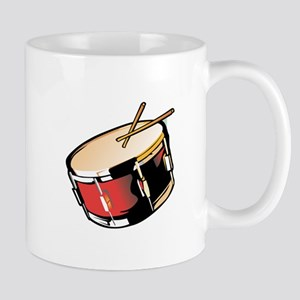 realistic snare drum red Mugs