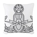 EOD Master Woven Throw Pillow