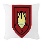 Dutch EOD Woven Throw Pillow