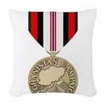 Afghanistan Campaign Woven Throw Pillow