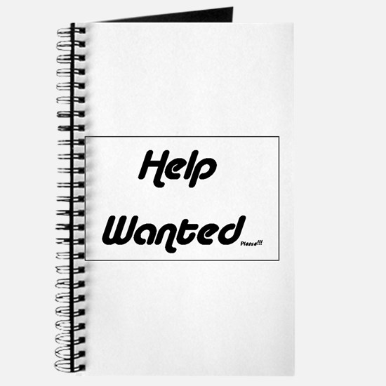 Help Wanted Please! Journal