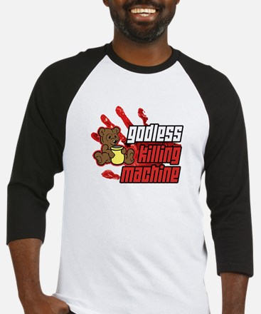 Godless Killing Machine 2 Baseball Jersey