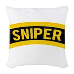 Sniper Woven Throw Pillow