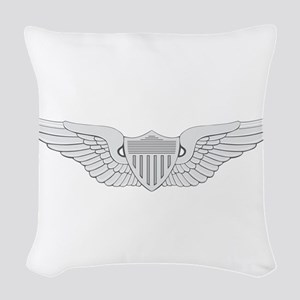 Aviator Woven Throw Pillow