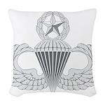Airborne Master Woven Throw Pillow