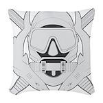 Spec Ops Diver Woven Throw Pillow